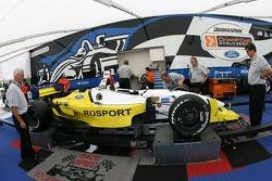 RuSPORT car at tech inspection