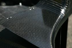Carbon fiber bodywork detail
