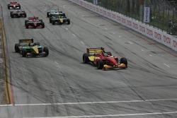 Start: Sébastien Bourdais lead Will Power