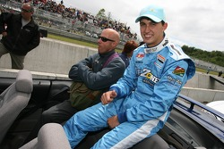 Drivers parade: Graham Rahal
