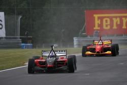 Robert Doornbos leads Sébastien Bourdais