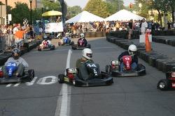 Go-kart race at the Jackson RaceWeek Festival