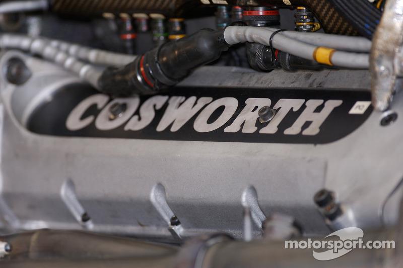 Detalle de motor Cosworth