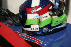 Helmet of Dario Franchitti