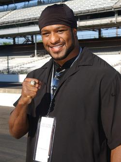 Heavyweight champion Lamon Brewster