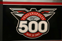 Logo for the 89th Indianapolis 500