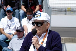 Tom Carnegie, back for his sixtieth year as announcer