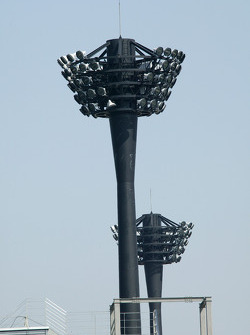 Light tower at Twin Ring Motegi