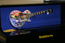 The winner's guitar