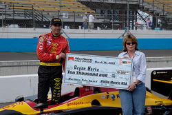 Herta gets his check