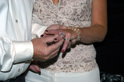 Wyatt and Joyce Swaim exchange rings