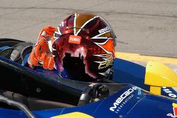 The helmet of Patrick Carpentier