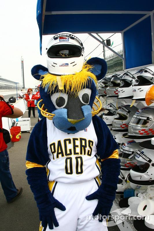 La mascotte des Indiana Pacers