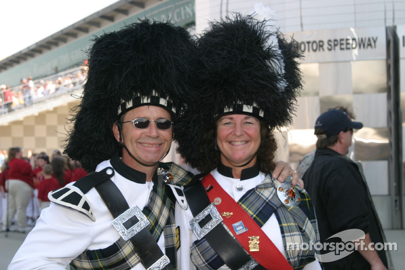 Les Indianapolis 500 Gordon Pipers