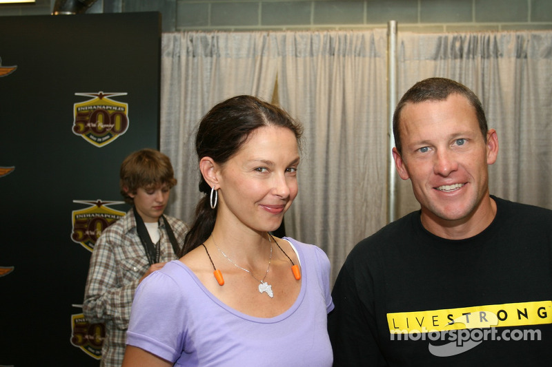 Ashley Judd et Lance Armstrong