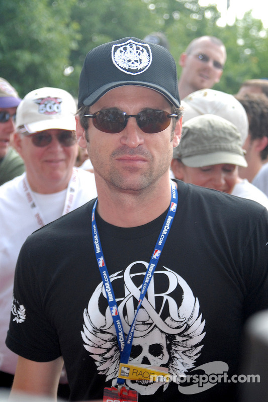 Patrick Dempsey, co-propriétaire de l'équipe Vision Racing