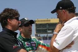 Michael Andretti, Tony Kanaan and Kim Green
