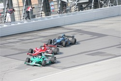 Ed Carpenter, Dan Wheldon and Danica Patrick