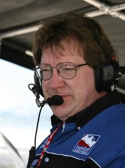 CURB Agajanian Beck Motorsport crew member
