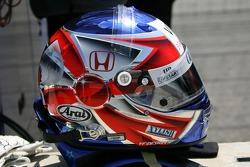Helmet of Roger Yasukawa