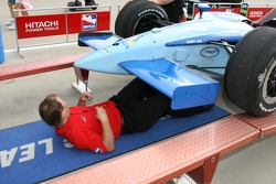 Car of Stephan Gregoire at tech inspection