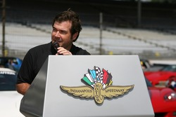 COO of the Indianapolis Motor Speedway, Joie Chitwood, during opening day
