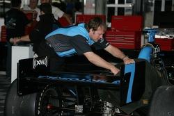 Andretti Green Racing crew member at work