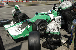 Ed Carpenter pits
