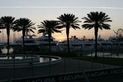 Beautiful St. Petersburg marina
