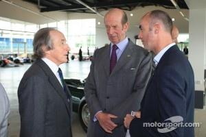 Sir Jackie Stewart and David Brabham