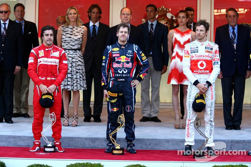 Fernando Alonso, 2º en el GP de Mónaco 2011
