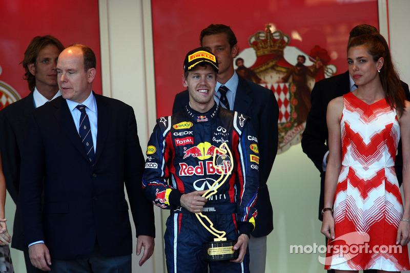 Vettel, una vez ganador en Mónaco