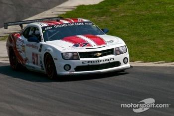 #57 Stevenson Motorsport Camaro GT.R: Jan Magnussen, Robin Liddell