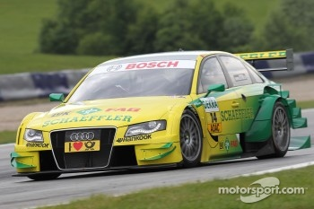 Martin Tomczyk took pole position for Audi