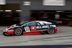 #37 All-Inkl Münich Lamborgini Murcielago 670 R-SV GT1: Dominik Schwager, Nicky Pastorelli