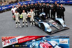 #42 Strakka Racing Honda Performance Development ARX 01: Nick Leventis, Danny Watts, Jonny Kane