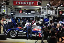 #9 Team Peugeot Total Peugeot 908: Sébastien Bourdais, Simon Pagenaud, Pedro Lamy