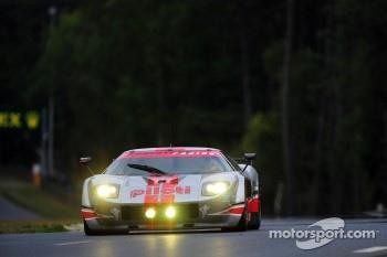 #68 Robertson Racing Ford GT-Doran: David Robertson, Andrea Robertson, David Murry