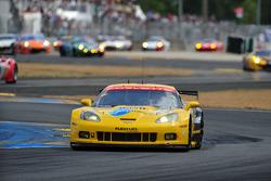 #73 Corvette Racing Chevrolet Corvette C6 ZR1: Olivier Beretta, Tom Milner, Antonio Garcia
