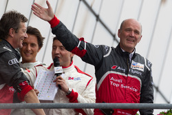 LM P1 podium: Dr. Wolfgang Ullrich