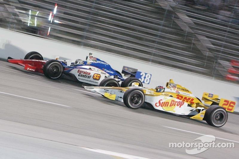 Graham Rahal, Service Central Chip Ganassi Racing, Ryan Hunter-Reay, Andretti Autosport