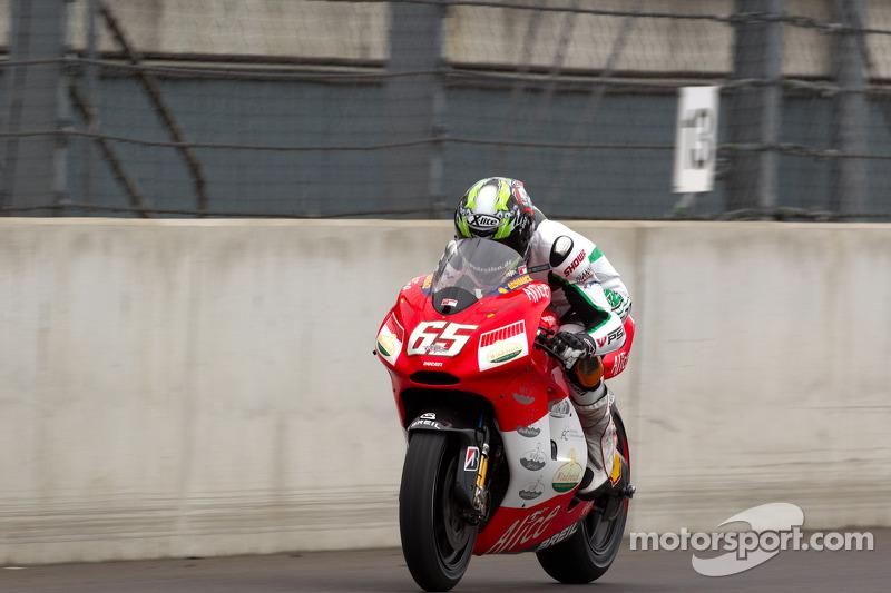 Moto2 rider Stefan Bradl