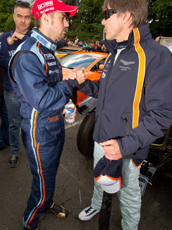 Adrian Fernandez and Tiago Monteiro