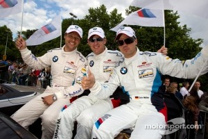 Andy Priaulx, Joey Hand and Dirk Muller