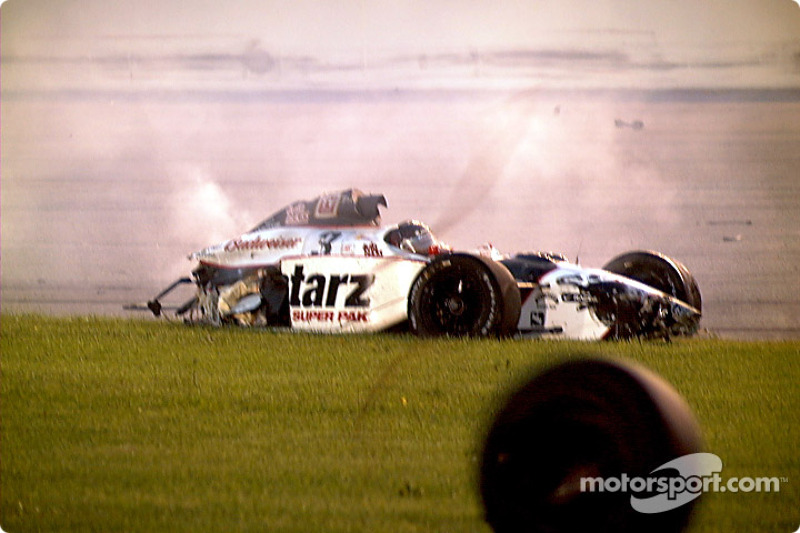 Unser comes to a rest