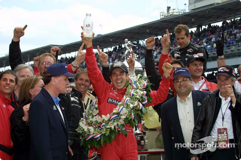 2001: сенсационная победа в дебютной Indy 500