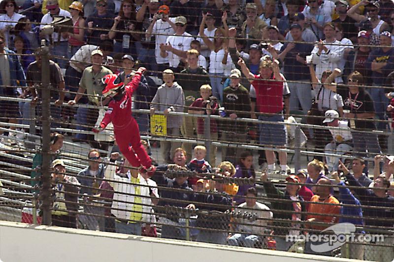 2001 - Helio Castroneves, Dallara/Oldsmobile