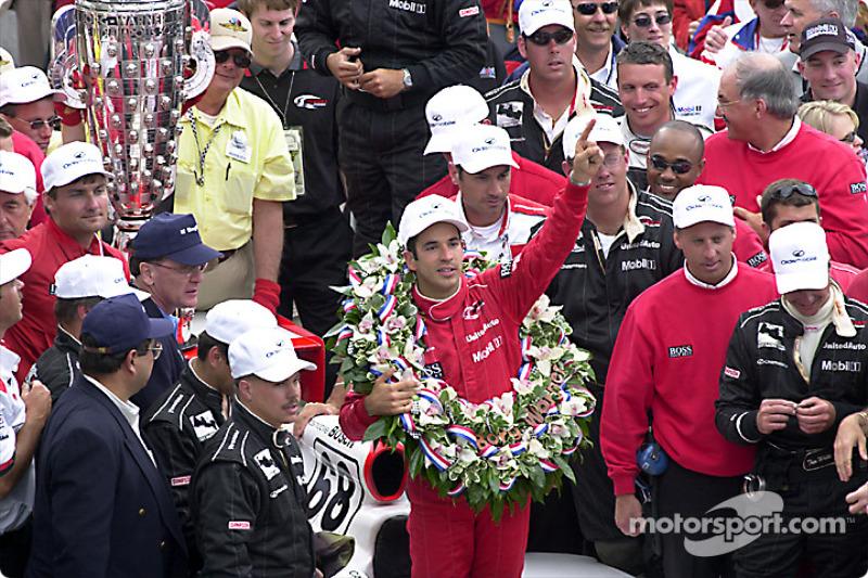 Vitórias na Indy 500: 3