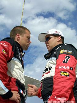 Didier André and Al Unser Jr.