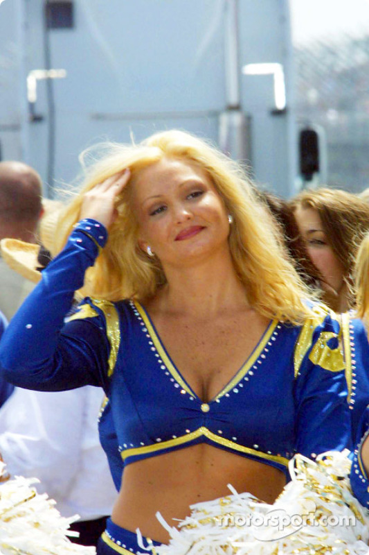 St. Louis Rams cheerleader
